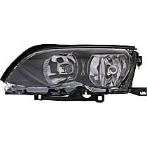 Sedan/Wagon, Driver Side Halogen Headlight, With bulb(s)