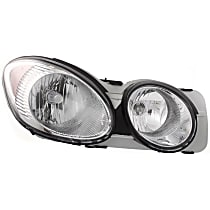 Passenger Side Headlight, With bulb(s) - 2005-2007 Buick Allure / LaCrosse