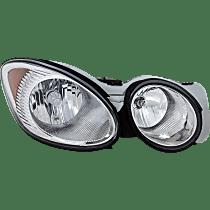 Passenger Side Headlight, With bulb(s)