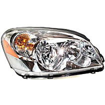 Passenger Side Headlight, With bulb(s) - CX Model