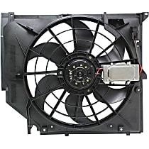 Radiator Fan - Mounts on Radiator, w/ Manual Transmission Only