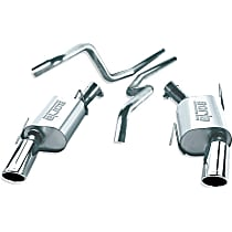 Borla - 2005-2009 Ford Mustang Cat-Back Exhaust System - Made of 304 Stainless Steel