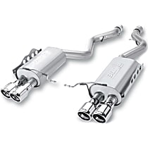 11764 Borla S-type - 2008-2013 BMW M3 Axle-Back Exhaust System - Made of 304 Stainless Steel