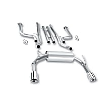 Borla - 2009-2013 Infiniti FX50 Cat-Back Exhaust System - Made of Stainless Steel
