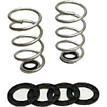 12462 Belltech Pro Coils and Spacer Lowering Springs - 1-2 in., Set of 2