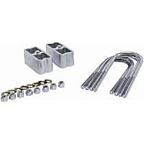 Suspension Block - Aluminum, Direct Fit, Set of 2