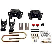 Belltech 6419 Leaf Spring Shackles and Hangers - Direct Fit, 2-spring set
