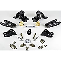 Belltech 6505 Leaf Spring Shackles and Hangers - Direct Fit, 2-spring set
