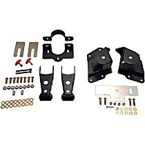 Belltech 6514 Leaf Spring Shackles and Hangers - Direct Fit, 2-spring set