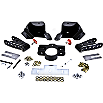 Belltech 6515 Leaf Spring Shackles and Hangers - Direct Fit, 2-spring set