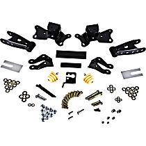 Belltech 6907 Leaf Spring Shackles and Hangers - Direct Fit, 2-spring set