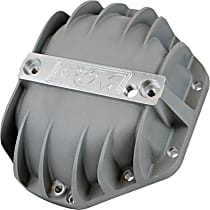 Differential Cover - Natural, Cast Aluminum, Direct Fit, Sold individually Front or Rear