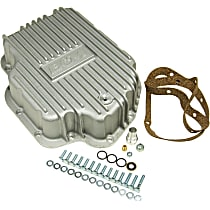 20280 Transmission Pan - Natural, Cast Aluminum, Deep, Direct Fit, Sold individually