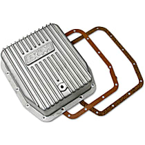 B&M 40295 Transmission Pan - Natural, Cast Aluminum, Deep, Direct Fit, Sold individually