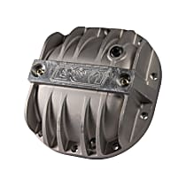40297 Differential Cover - Natural, Cast Aluminum, Direct Fit, Sold individually