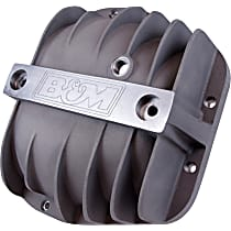 B&M 40298 Differential Cover - Natural, Cast Aluminum, Direct Fit, Sold individually