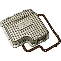 B&M 70260 Transmission Pan - Natural, Cast Aluminum, Deep, Direct Fit, Sold individually