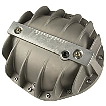 Differential Cover - Natural, Cast Aluminum, Direct Fit, Sold individually