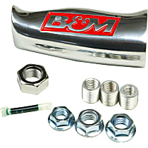 80641 Shift Knob - Brushed, Aluminum, Universal, Sold individually