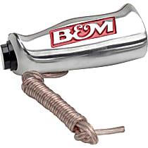 B&M 80658 Shift Knob - Brushed, Aluminum, Universal, Sold individually