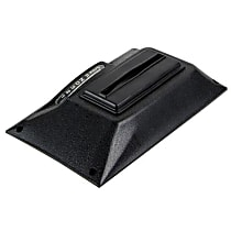 81026 Shift Boot - Black, ABS Plastic, Direct Fit, Sold individually