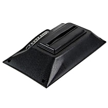 B&M 81026 Shift Boot - Black, ABS Plastic, Direct Fit, Sold individually