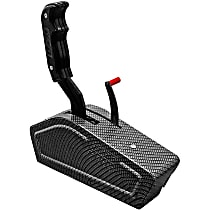 B&M Stealth Pro Ratchet 81119 Shifter - Black, Automatic, Direct Fit, Sold individually