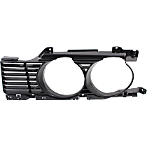 Grille Insert - Paintable, Driver Side, Outer