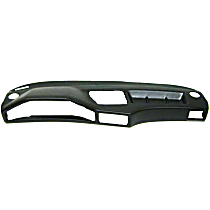ABS Plastic Dash Cover - Black Front