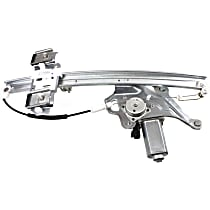 Front, Driver Side Power Window Regulator, With Motor - 2000-2005 Buick LeSabre