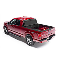 92321 Truck Tool Box - Black, Fiberglass And Polymer, Utility Box, Direct Fit, Sold individually