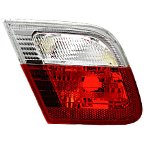Driver Side, Inner Tail Light, Without bulb(s) - Clear & Red Lens, Conv/Coupe, To 3-03