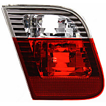 Driver Side, Inner Tail Light, Without bulb(s) - E46 Sedan, With Prod. Date: From 9/2001, White Indicator Lights (Code S785A)
