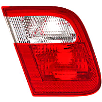 Driver Side Tail Light, Without bulb(s) - 1999-2001 BMW 3 Series, E46 Sedan, With Production Date Up to 09/2001