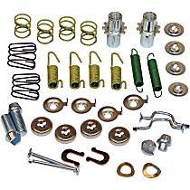 Beck Arnley 084-1666 Brake Hardware Kit - Direct Fit, Kit