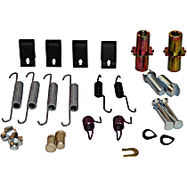 Beck Arnley 084-1677 Brake Hardware Kit - Direct Fit, Kit