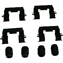 Beck Arnley 084-1786 Brake Hardware Kit - Direct Fit, Kit