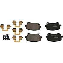 089-1759 Beck Arnley Foreign Branded Rear Brake Pad Set