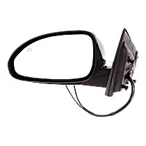 Mirror - Driver Side, Power, Heated, Folding, Paintable, With Turn Signal and Memory