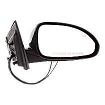 Mirror Manual Folding - Passenger Side, In-housing Signal Light, Paintable