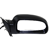 Mirror - Passenger Side, Power, Heated, Folding, Textured Black, With Turn Signal (Clear), Memory