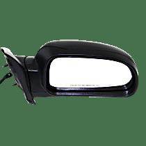 Mirror Manual Folding Heated - Passenger Side, Power Glass, In-housing Signal Light, Textured Black