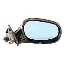 Mirror - Passenger Side, Power, Heated, Manual Folding, Paintable, With Blue Glass, For Wagon, Models With Shadow Line