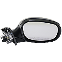 Mirror - Passenger Side, Power, Heated, Manual Folding, Paintable, For Wagon