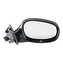 Mirror - Passenger Side, Power, Heated, Manual Folding, Paintable, For Wagon, Models With Shadow Line
