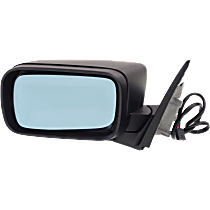 Mirror - Driver Side, Power, Folding, Paintable, For E46 Sedan or Wagon