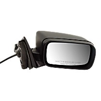 Mirror - Passenger Side, Power, Folding, Paintable, For E46 Sedan or Wagon