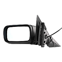 Mirror - Driver Side, Power, Heated, Folding, Paintable, For E46 Sedan or Wagon