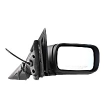 Mirror - Passenger Side, Power, Heated, Folding, Paintable, For E46 Sedan or Wagon