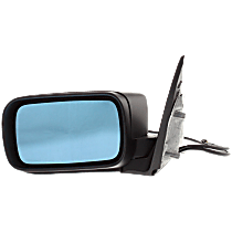 Mirror - Driver Side, Power, Heated, Power Folding, Paintable, For E46 Sedan or Wagon
